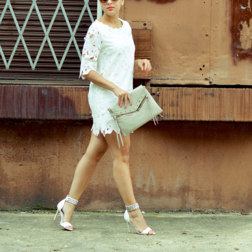 Fashionably Lo Chic Wish White Lace 5 of 10