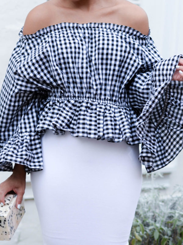 Gingham Top via Fashionably Lo 6 of 14