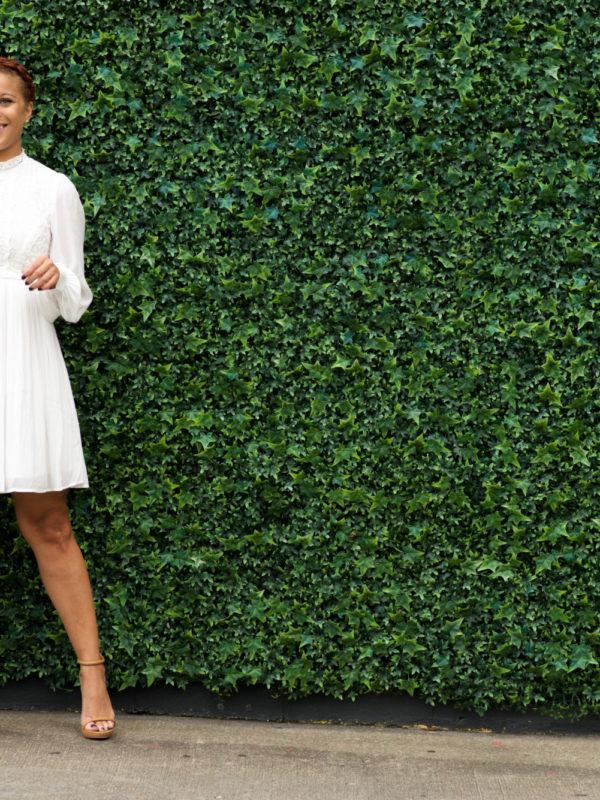 White Dress via Fashionably Lo 10