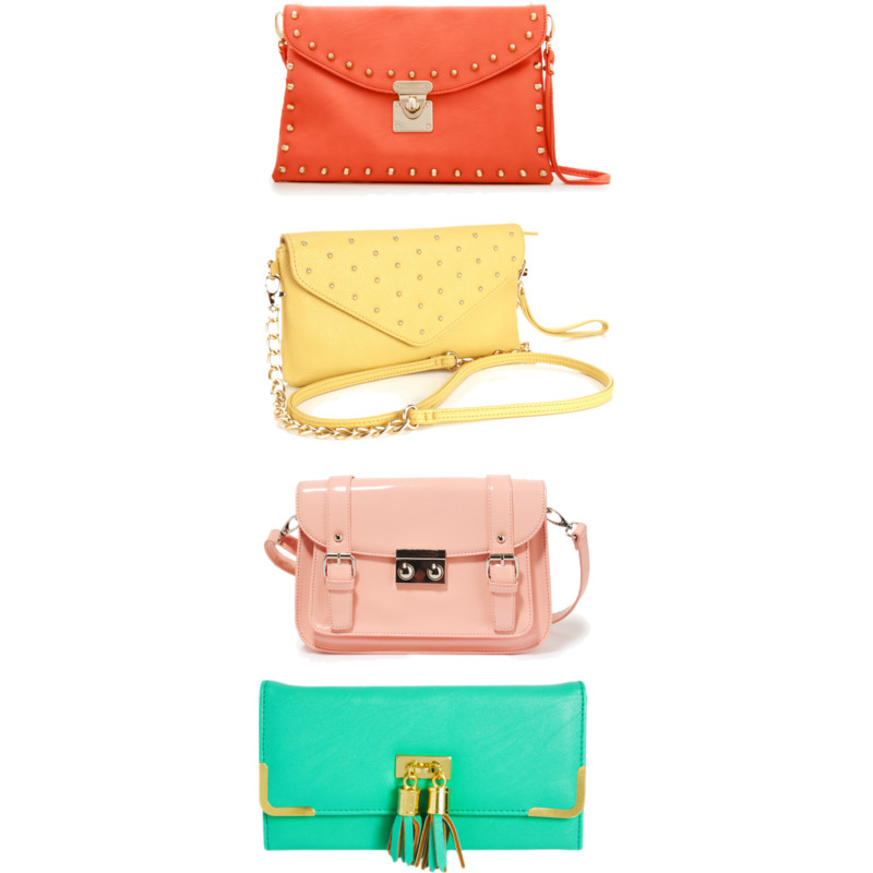 {tuesday cravings} pastel purses