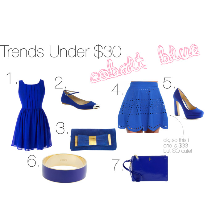 Trends Under $30: Cobalt