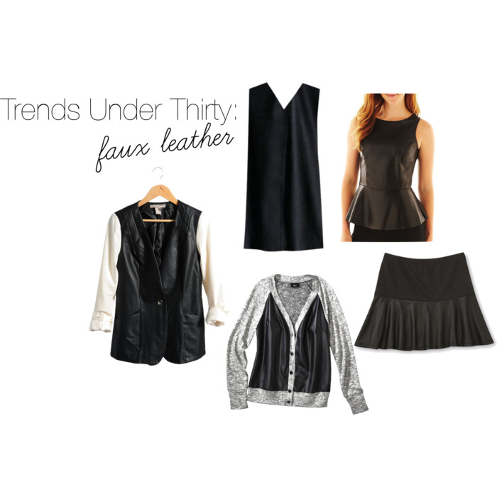 Trends Under $30: Faux Leather