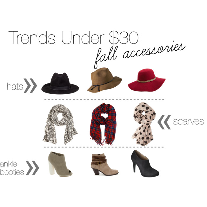 Trends Under $30: Fall Accessories