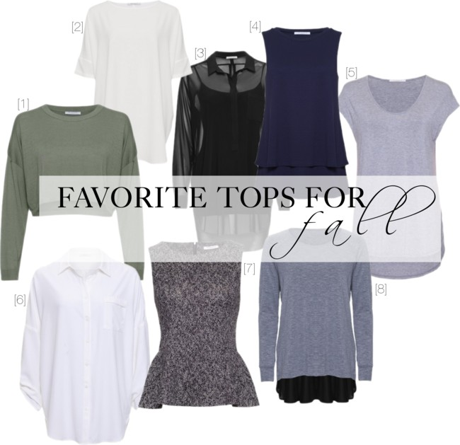 shopping online for fall tops