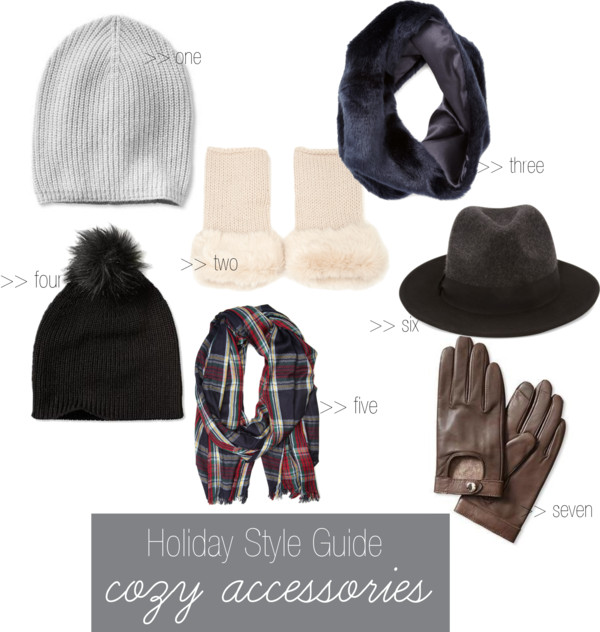 Holiday Style Guide: Cozy Accessories