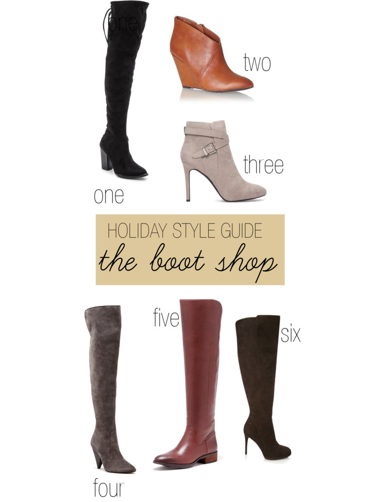 Holiday Style Guide: Boots & Booties