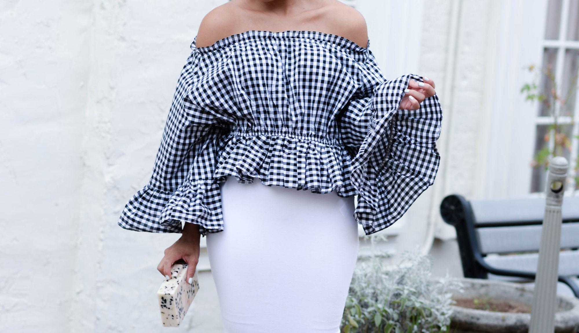 Black & White Gingham