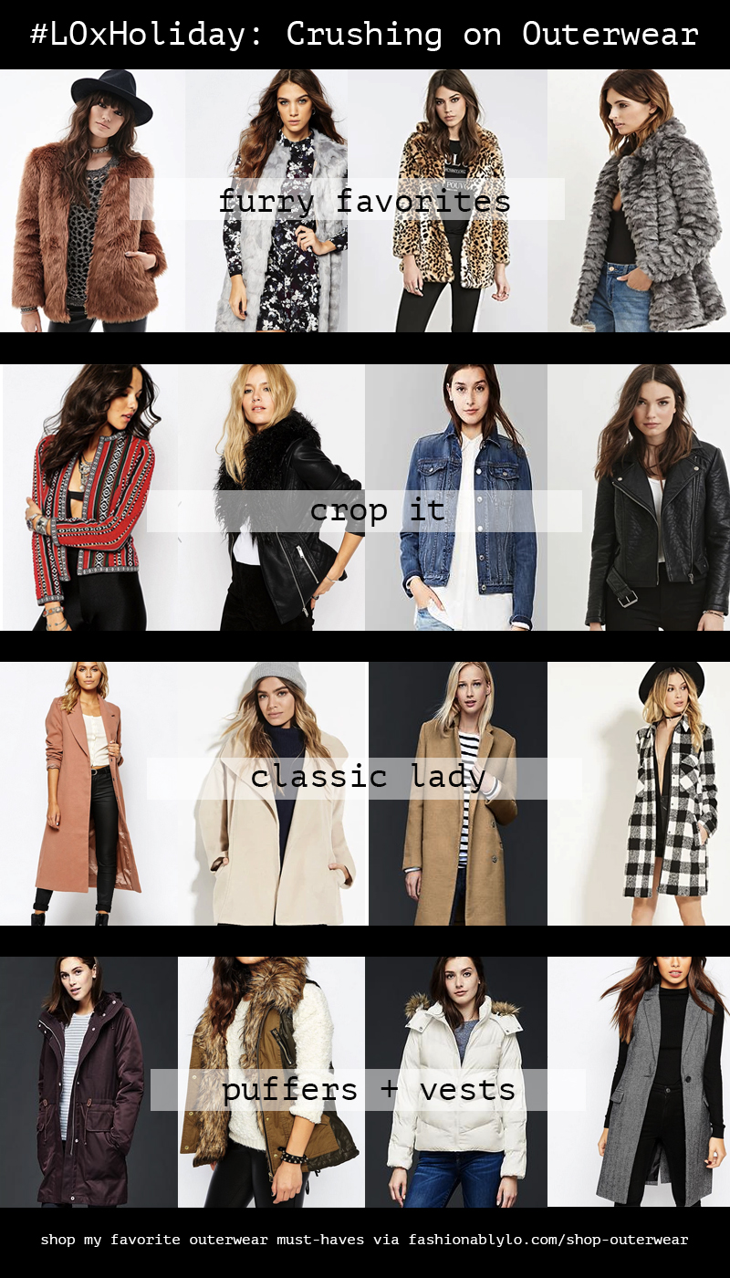 LO x Holiday: Must Have Winter Outerwear