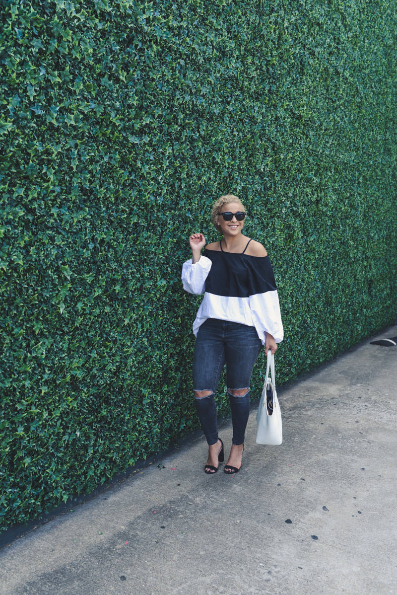 Obsessed: Off Shoulder Bubble Top