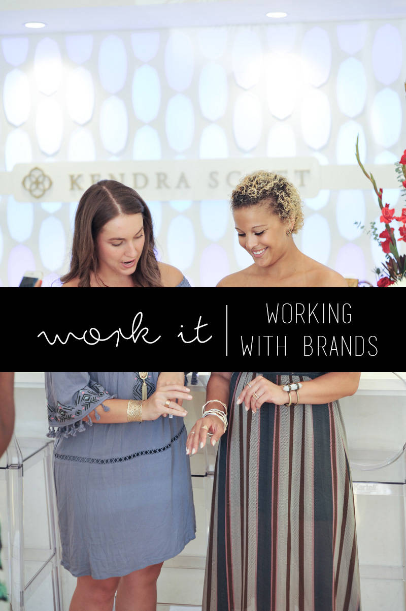 Work It | Working with Brands