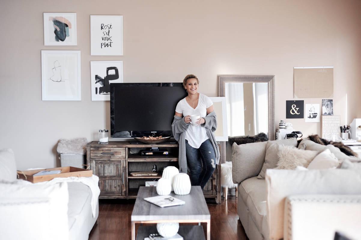 Loft Living Room Refresh