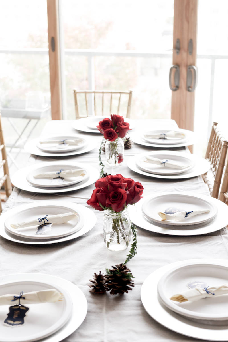 How to Create An Affordable Thanksgiving Tablescape