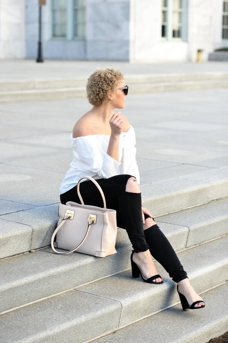 An Ode to the White Off the Shoulder Top
