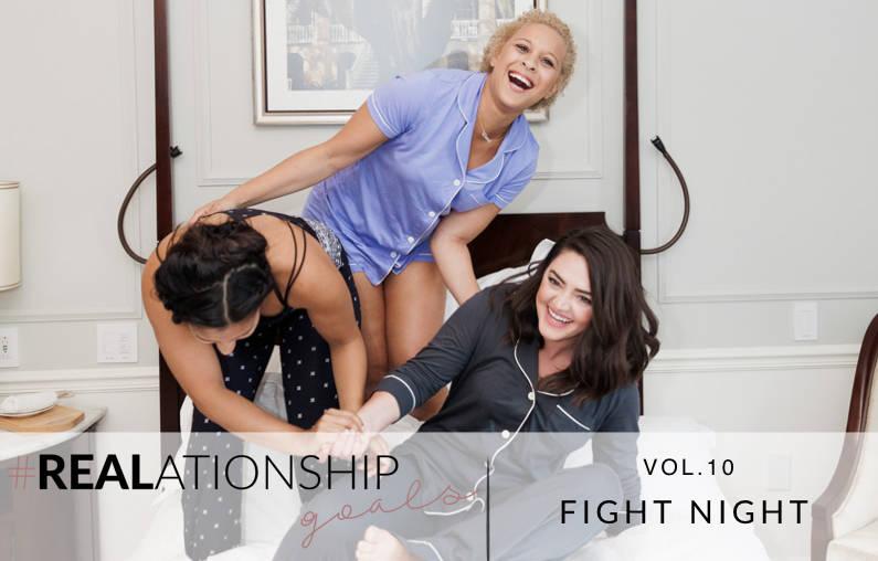 #REALationship Goals: FightClub
