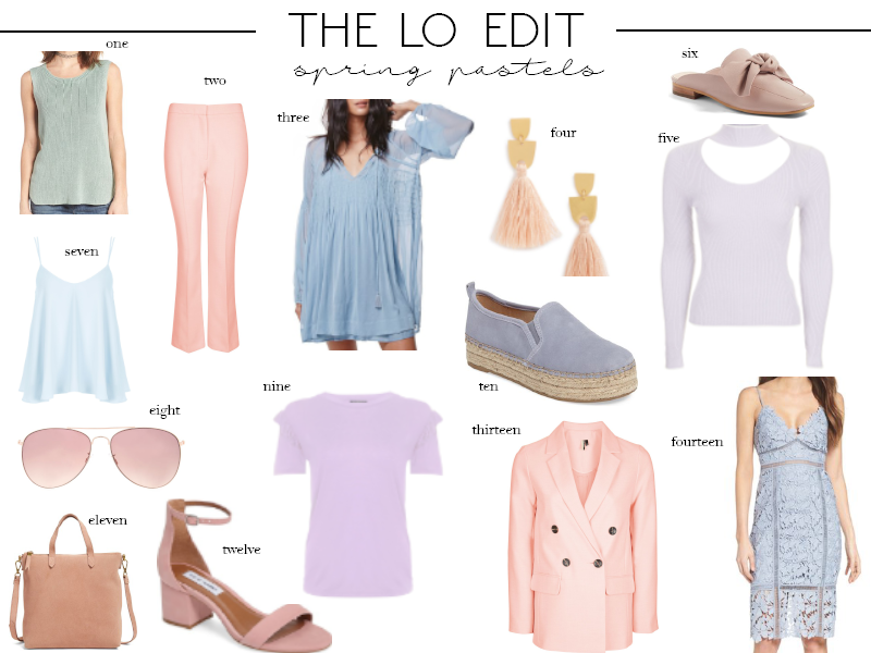 The LO Edit: Spring Pastels