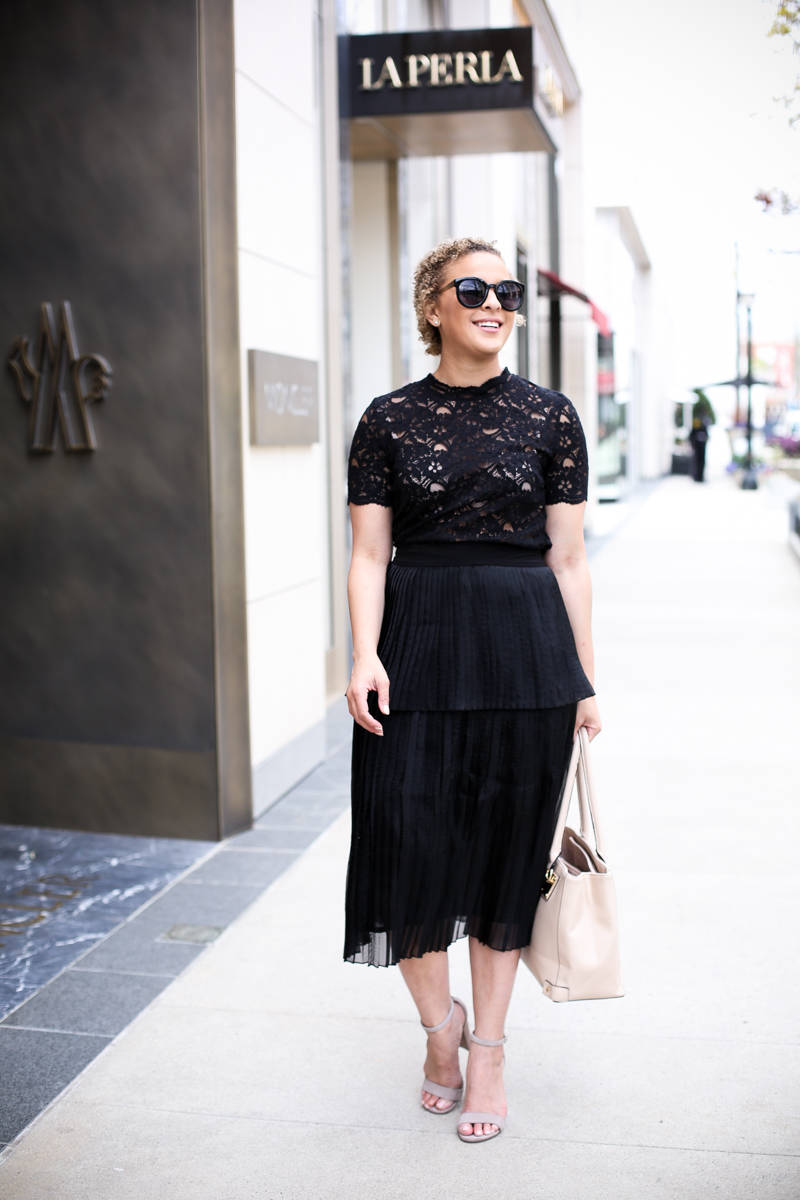 Styling Black for Spring