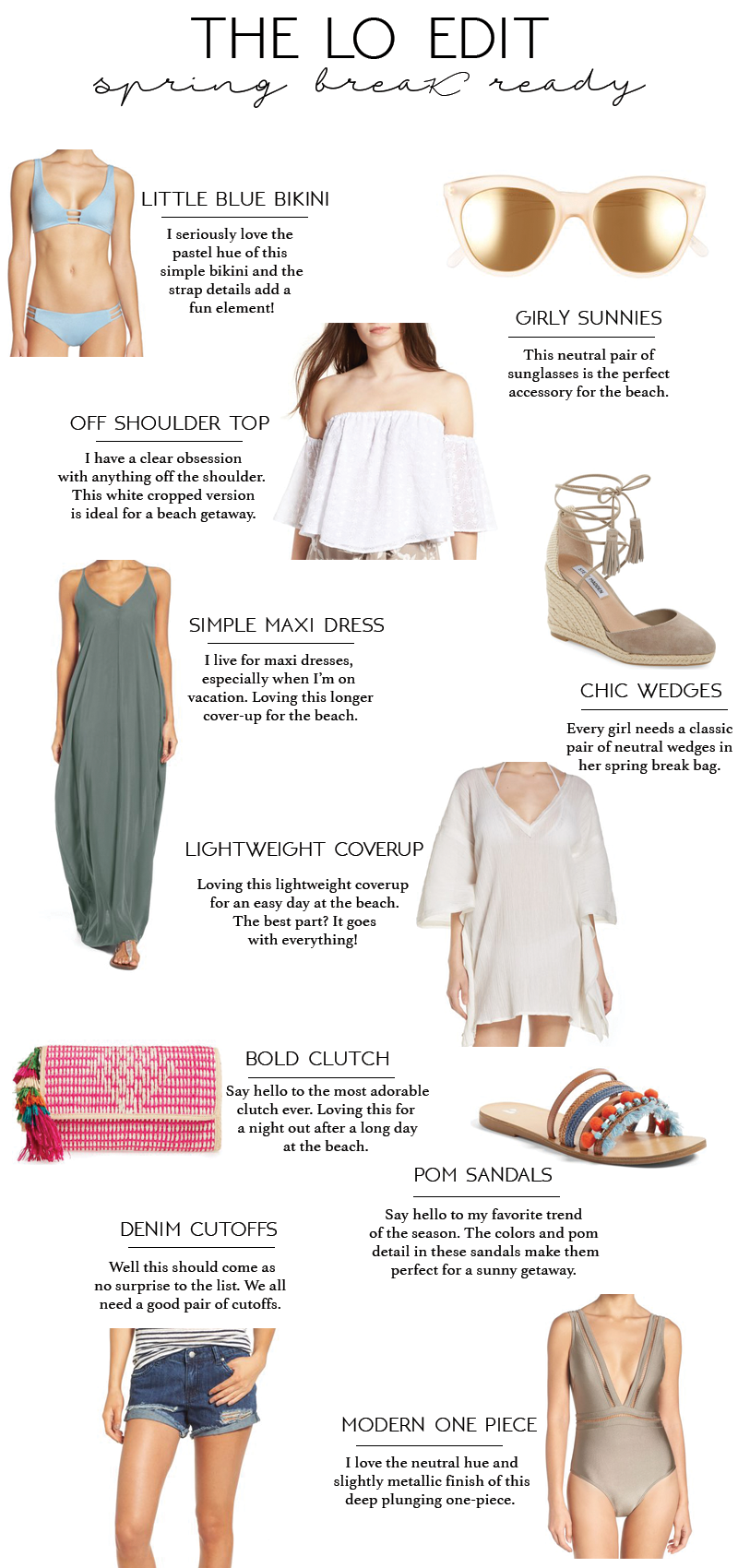 The LO Edit: Spring Break Ready with Palm Beach Tan