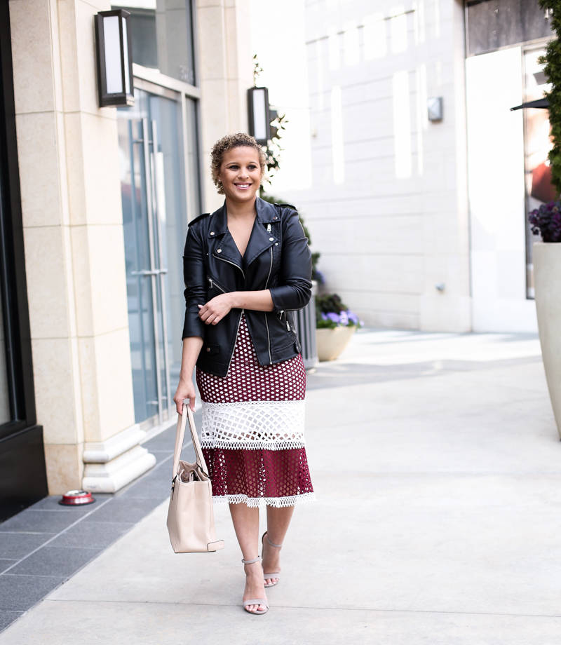 Burgundy Crochet