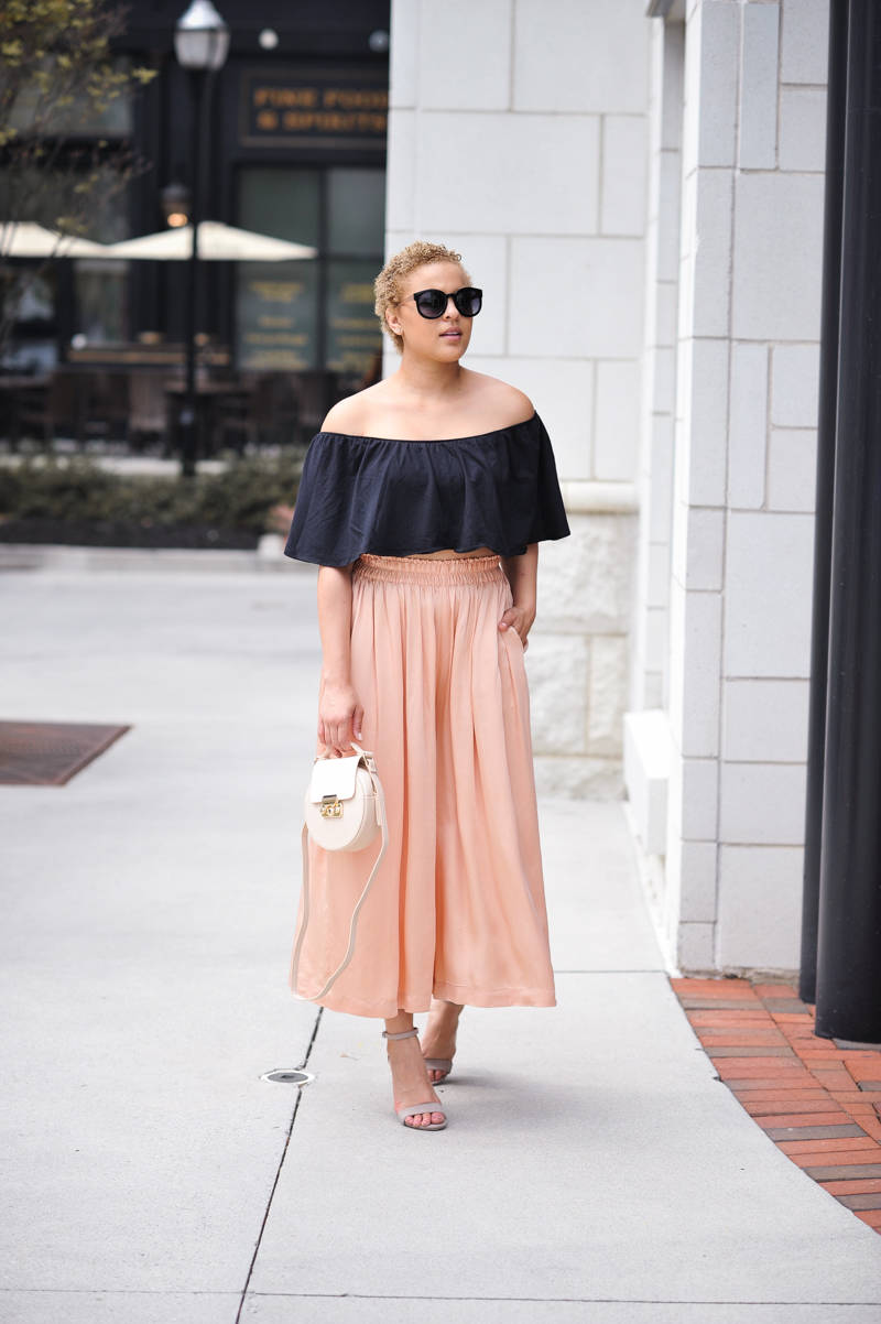 Pretty in Pink Culottes