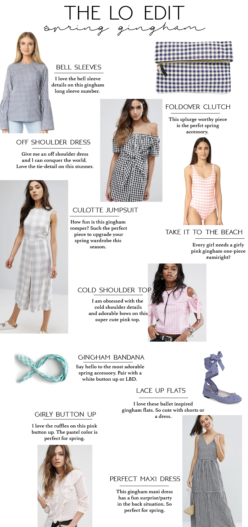 The LO Edit: Spring Gingham