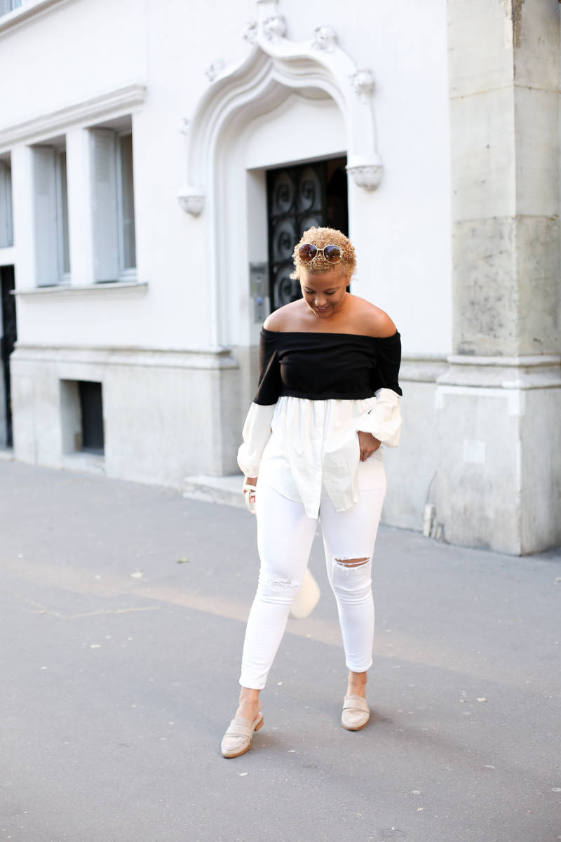 Black + White in Paris