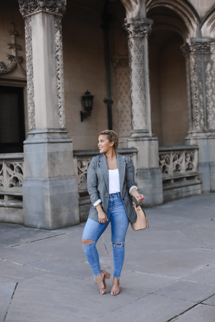 The Herringbone Blazer