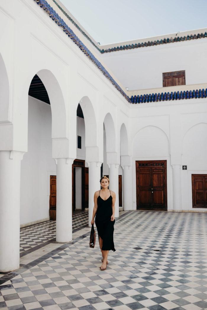10 Ways to Wear: a black slipdress